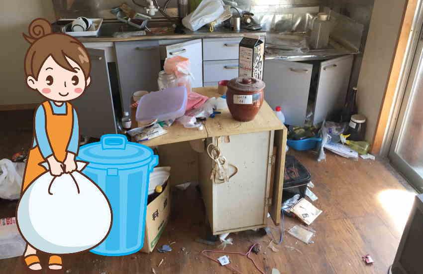 掃除拒否する認知症の利用者さんいは「掃除」という言葉を「ゴミ出し」に変えるとうまくいくかもしれない